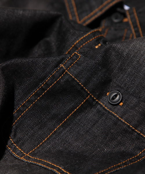 DETAILSディテイルズ/ DENIME 7/S SHIRTS
