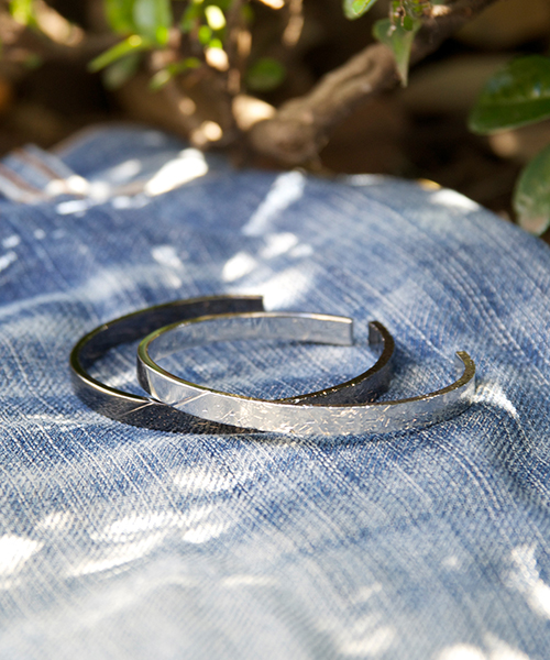 Genri/ゲンリ/MADE IN JAPAN/日本製/ 【gremmie】 Damage COATING BANGLE