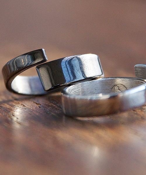 Genri/ゲンリ/MADE IN JAPAN/日本製/ 【Paddle ou】/asymmetry ring