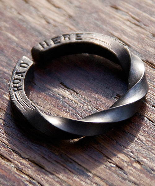 Genri/ゲンリ/MADE IN JAPAN/日本製/ 【face】/message twist ring