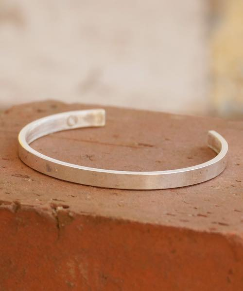 Genri/ゲンリ/MADE IN JAPAN/日本製/ 【River mouse】/PLAIN BANGLE