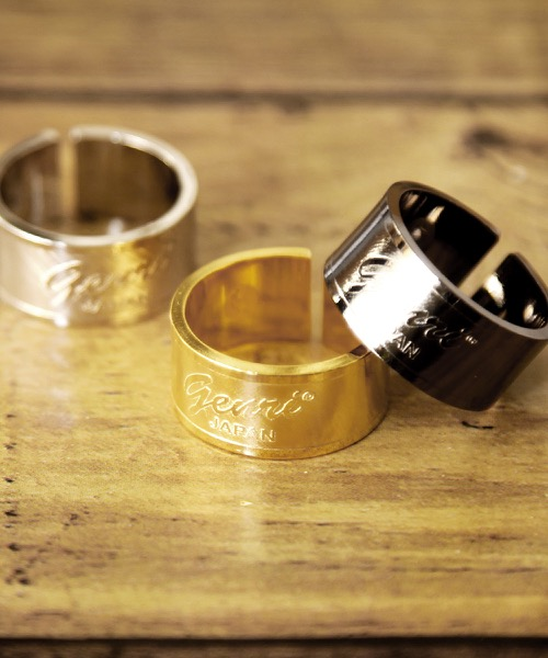 Genri/ゲンリ/MADE IN JAPAN/日本製/【Slappy】/Genri LOGO RING