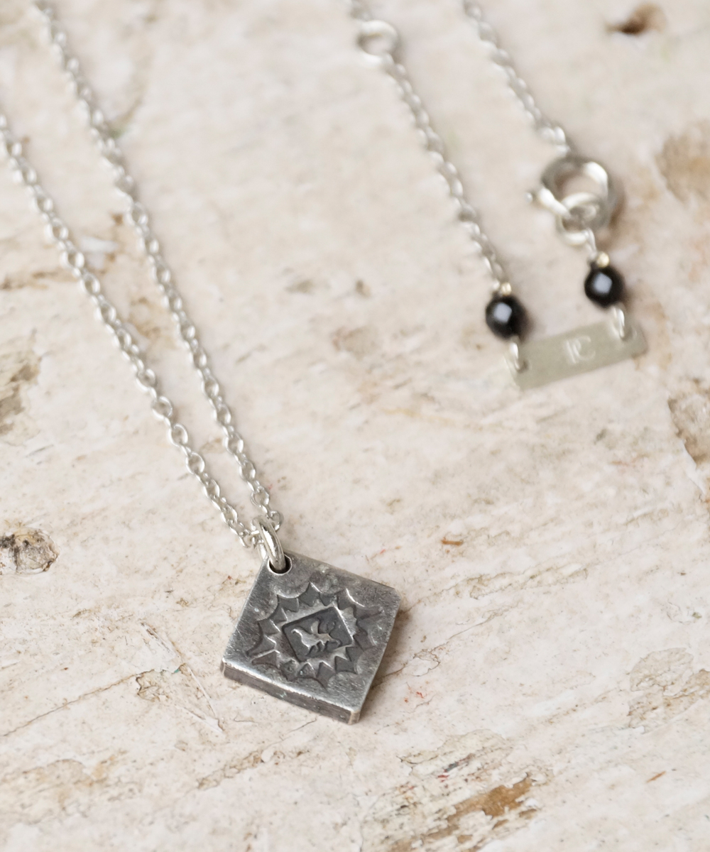 PIECE OF CHORD/ピースオブコード/SILVER STAMP NECKLACE GRIFFIN
