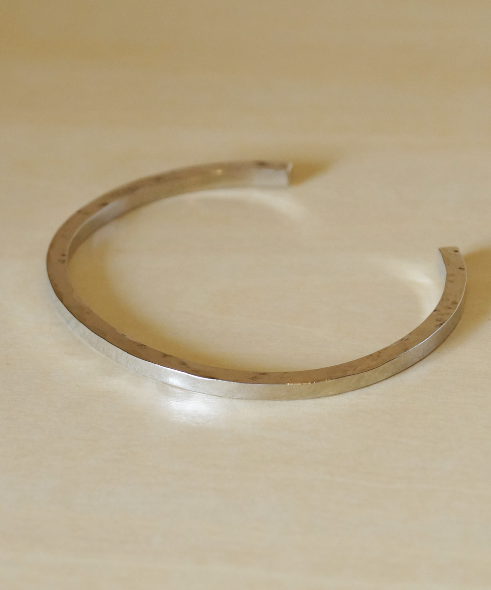 PIECE OF CHORD/ピースオブコード/SIDE HAMMERED BANGLE 3mm