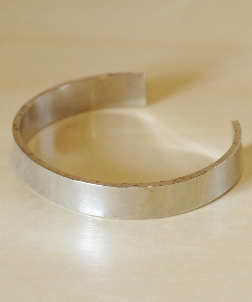 PIECE OF CHORD/ピースオブコード/SIDE HAMMERED BANGLE 10mm